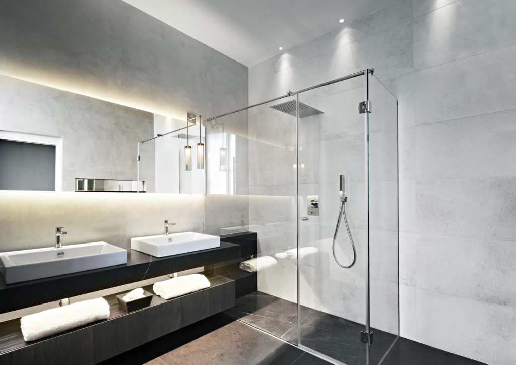 U201cA Linear Light Source Hidden Under Your Floating Basin Along With  Wall Recessed Floor Washers Can Help To Generate Warmth And Atmosphere That  Brighter ...