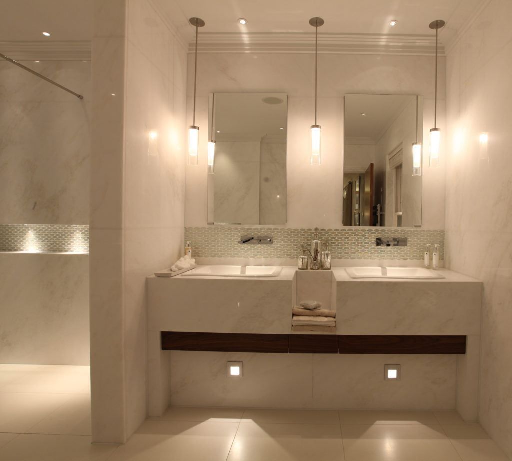 Bathroom lighting ideas soft hidden light sources are a great option for mood lighting and help to create a relaxing spa ambience by john cullen lighting mozeypictures Choice Image