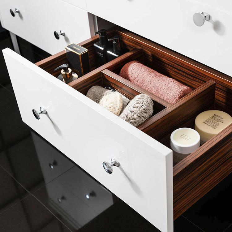 Bathroom organisation tips
