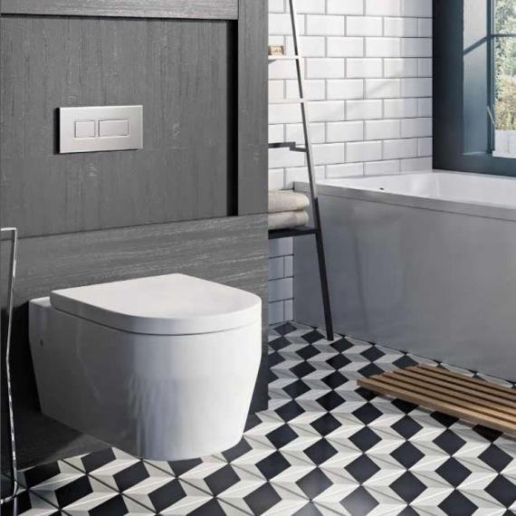 Designed Specifically For Smaller Bathrooms And Ensuites, Its Projection Is  Just 430mm. Itu0027s Sleek, Chic And Compact U2013 And Even ...