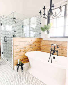 farmhouse bathroom ideas to get that country rustic style