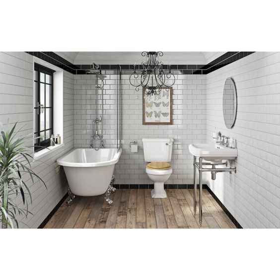 Traditional bathroom suites: A design guide