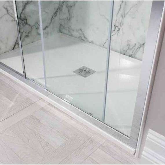 Simpsons 1700 x 800mm Rectangular 25mm Stone Resin Shower Tray