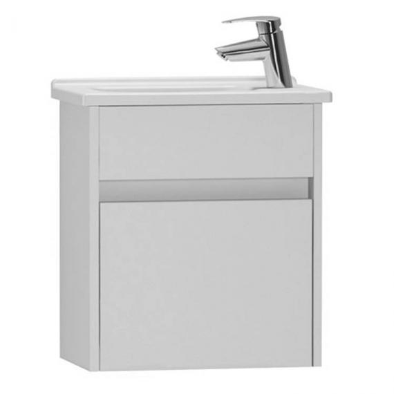 Vitra S50 450mm Gloss White Compact Single Door Vanity Unit & Basin