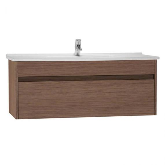 Vitra S50 1200mm Oak Single Drawer Vanity Unit & Basin