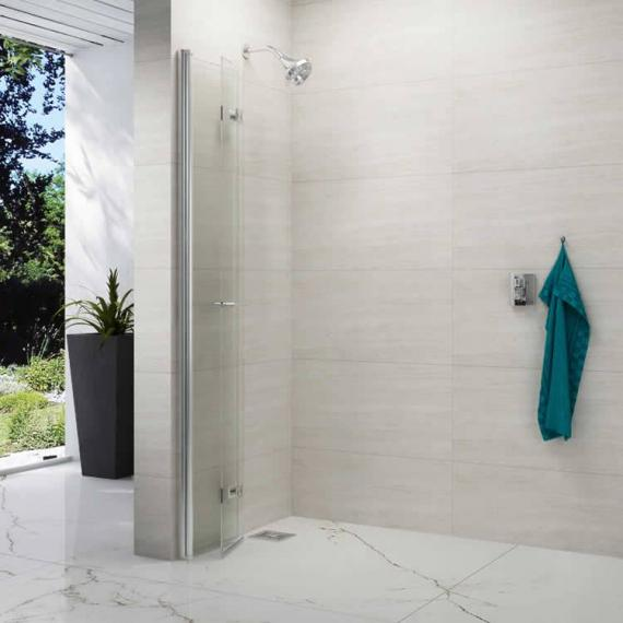 Merlyn 8 Series Folding Shower Wall
