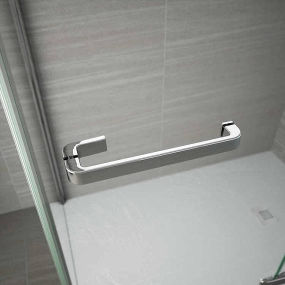Merlyn 8 Series Frameless Hinge & Inline Shower Door Detail