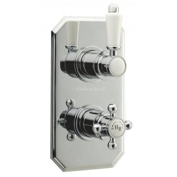 Hudson Reed Traditional Twin Thermostatic Concealed Shower Valve