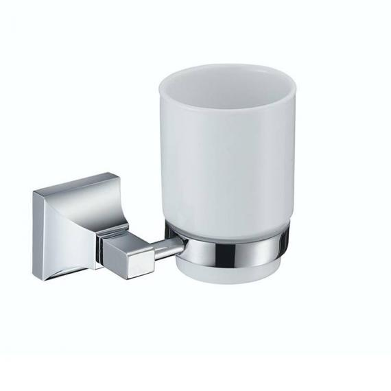 Heritage Chancery Chrome Tumbler & Holder