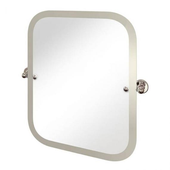 Arcade Rectangular Swivel Mirror With Curved Corners