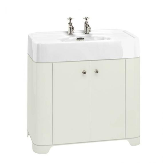 Arcade Sand 900mm Floorstanding Vanity Unit & Basin