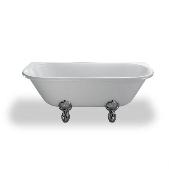 Burlington Avantgarde Back To Wall Freestanding Bath & Feet - Image 3