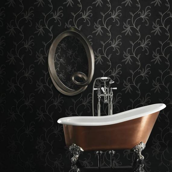 Ashton and Bentley Athena Metallic Freestanding Bath | Gloss Brass - image 4