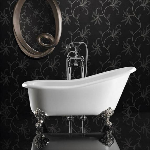 Ashton and Bentley Athena Freestanding Bath | Gloss White