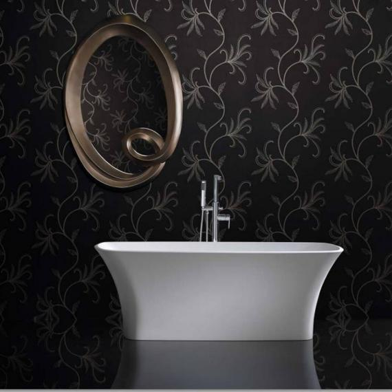 Ashton and Bentley Nisou Freestanding Bath | Gloss White