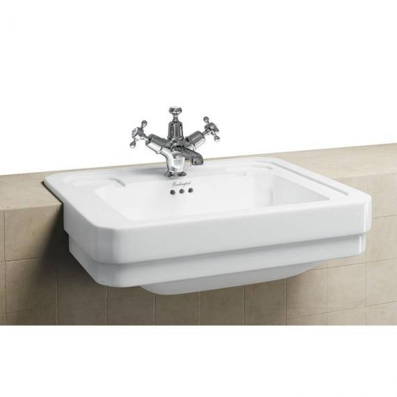Burlington Semi Recessed Basin