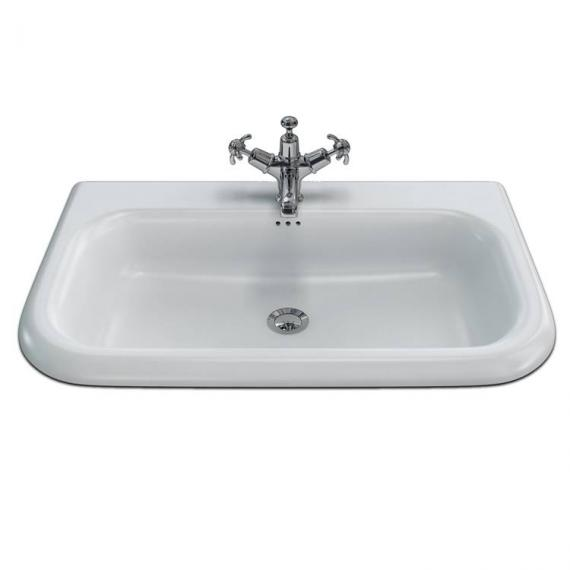 Burlington Natural Stone Large Traditional Basin With Wash Stand - Image 3