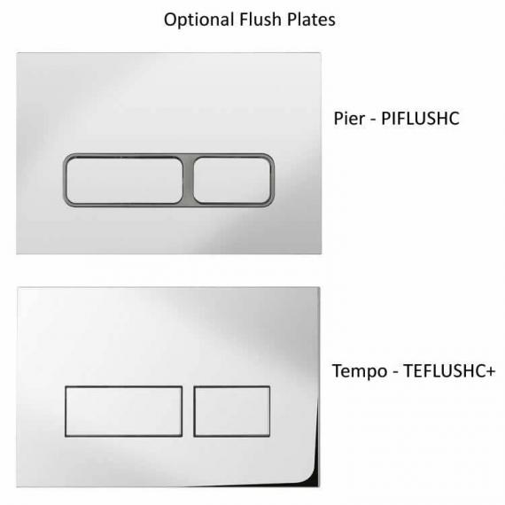 Optional Bauhaus Flush Plates
