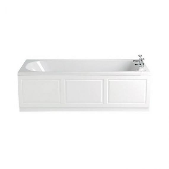 Heritage Dorchester Single Ended Solid Skin Acrylic Bath - 1700 x 700mm