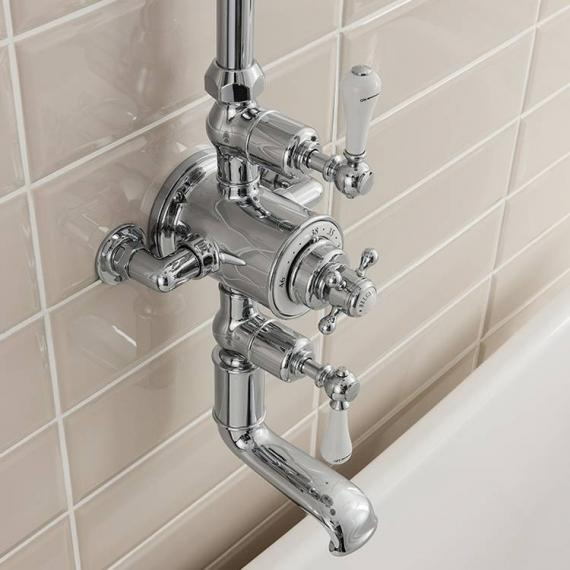 Crosswater Belgravia Thermostatic Bath Shower Mixer