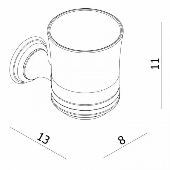 Crosswater Belgravia Tumbler Holder Specification