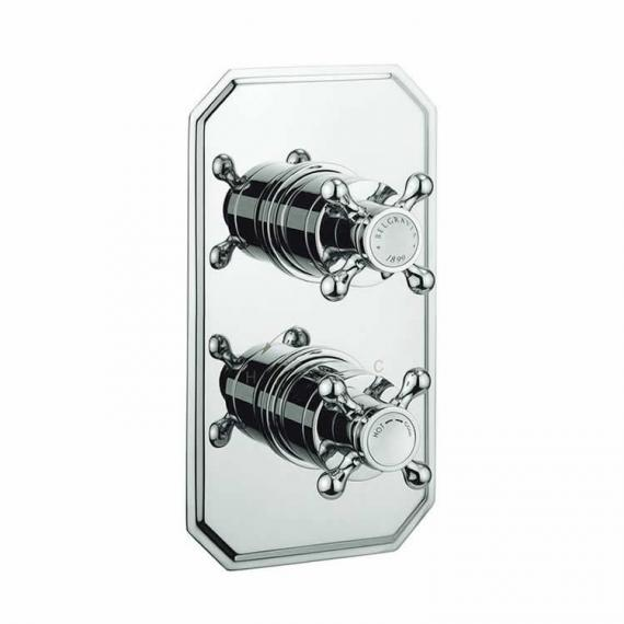 Crosswater Belgravia Crosshead 2500 Shower Valve With 3 Way Diverter