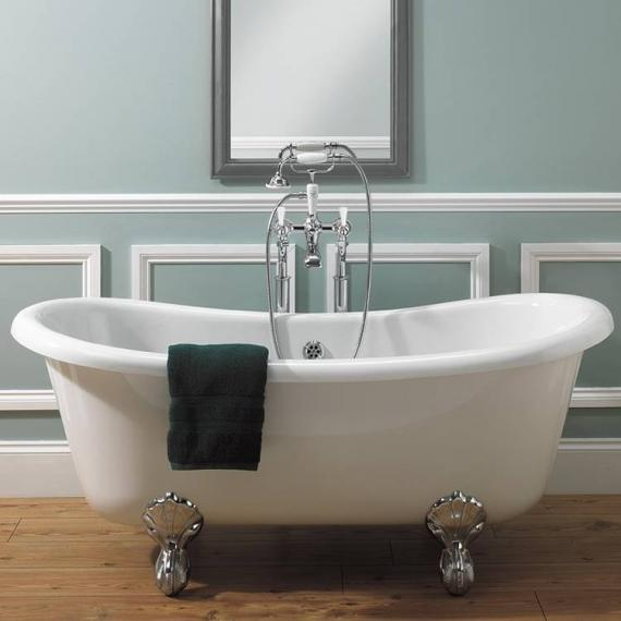 Crosswater Belgravia Lever Bath Shower Mixer With Bath Legs