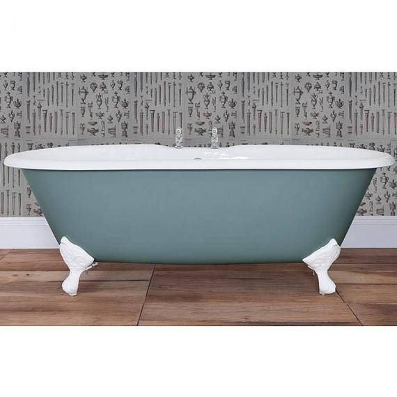 JIG Bisley Double Ended Cast Iron Bath 1690 x 750mm with Feet