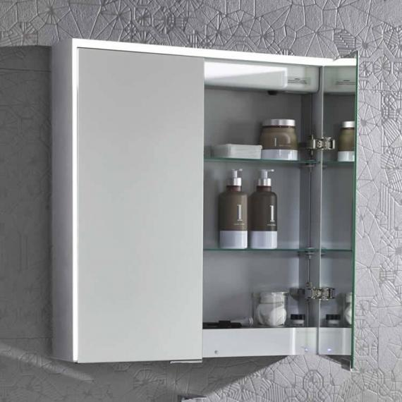Roper Rhodes Compose Illuminated Mirror Cabinet With Bluetooth - Image 2