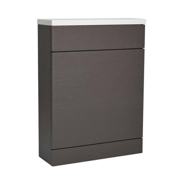 Roper Rhodes Charcoal Elm Back To Wall WC Unit & Worktop