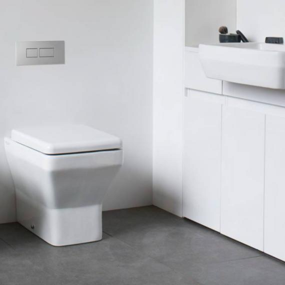Britton Cube Back To Wall Pan & Soft Close Seat - Image 2