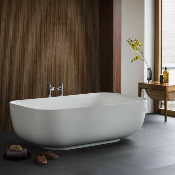 Clearwater Duo Clear Stone Freestanding Bath