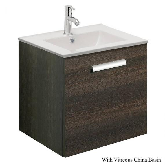 Bauhaus Design Plus 50 Drawer Panga Vanity Unit & Ceramic Basin