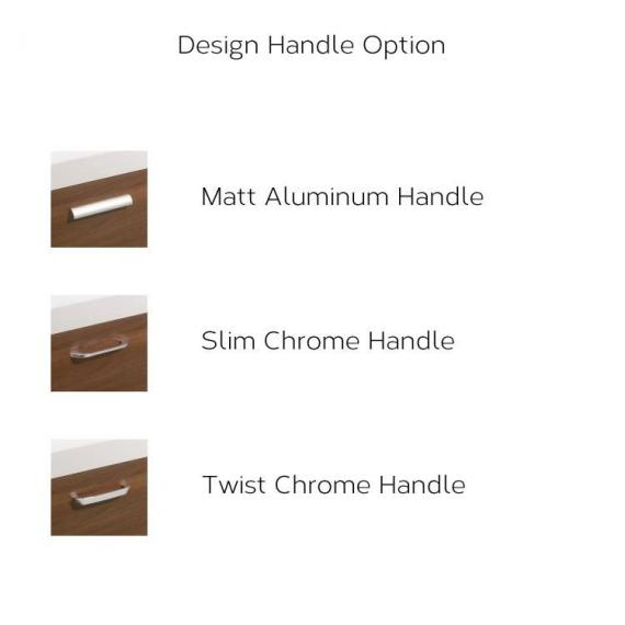 Bauhaus Design Handle Option