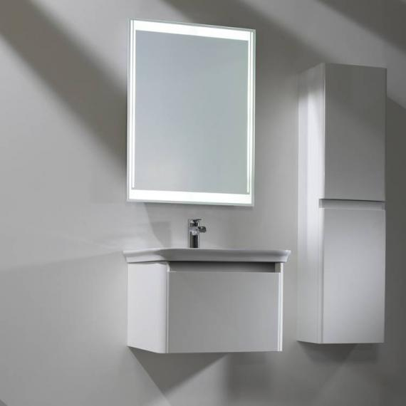 Tavistock Equate White Gloss 600mm Wall Mounted Unit & Basin