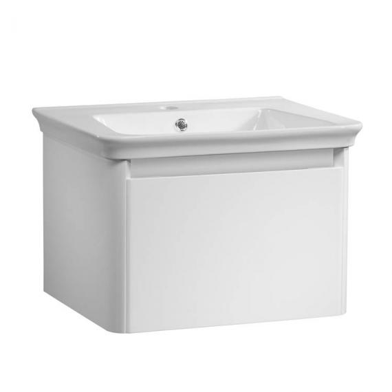 Tavistock Equate White Gloss 600mm Wall Mounted Unit & Basin - Image 2