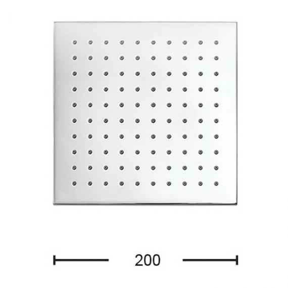 Crosswater Zion 200mm Fixed Shower Head Specification