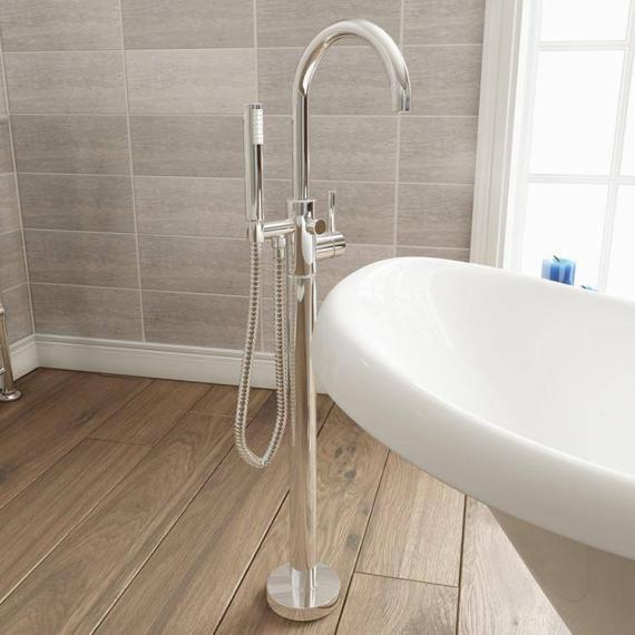 Adora Fusion Floor Standing Bath Shower Mixer