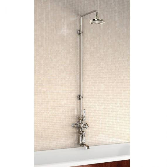 Burlington Avon Exposed Thermostatic Shower Valve Kit With 6