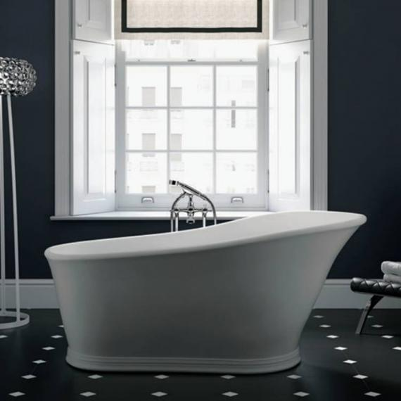 Imperial Hampton Cian® Solid Surface Freestanding Bath