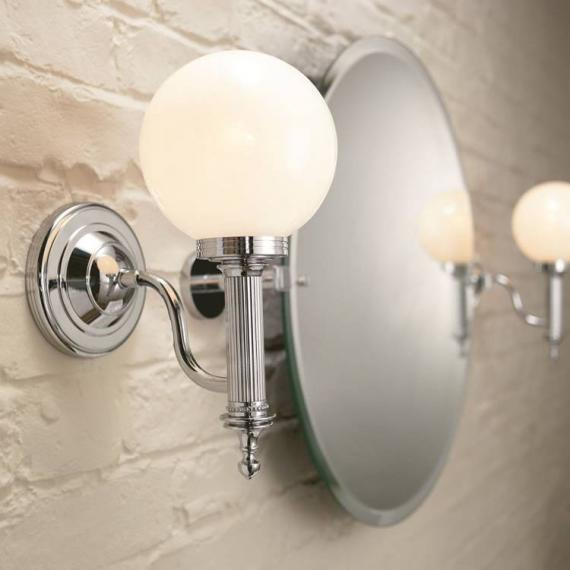 Imperial Cadiz Wall Light With Gl