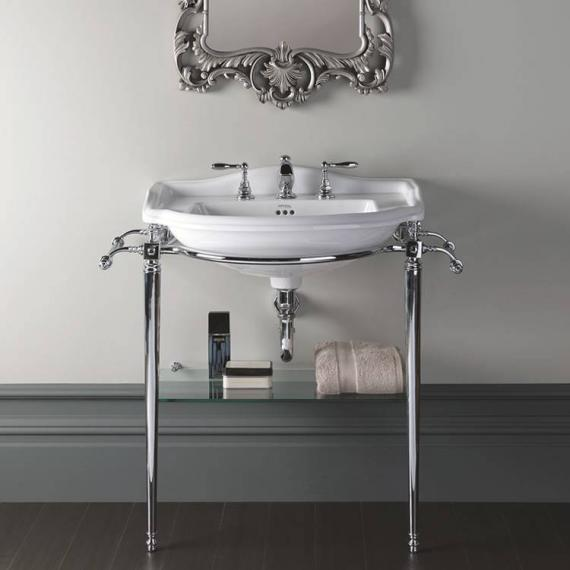 Imperial Drift Large Basin Stand With Gl Shelf