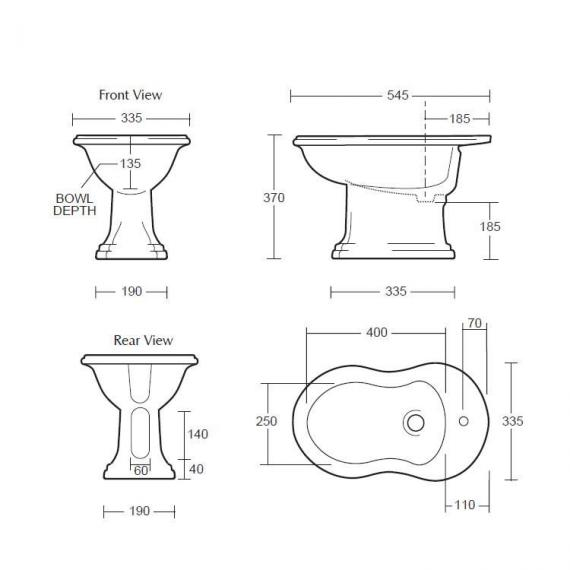 Imperial Drift Bidet Specification
