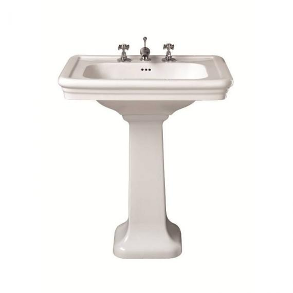 Imperial Etoile Large Basin and Pedestal