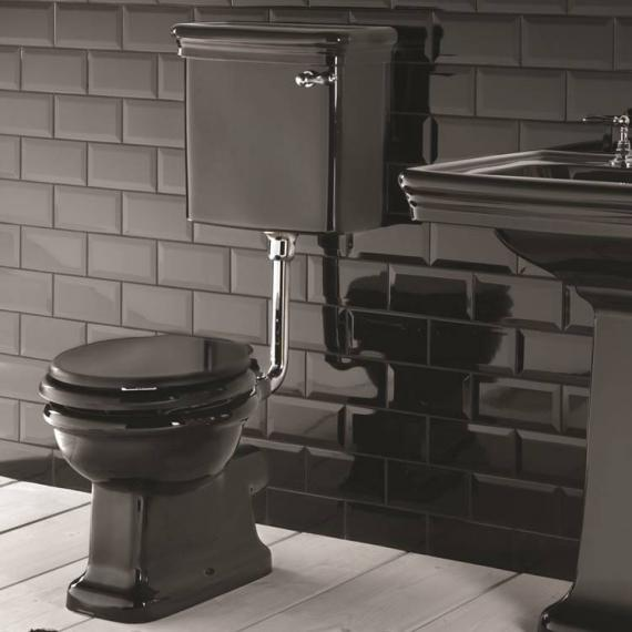 Imperial Etoile Black Low Level Pan and Cistern