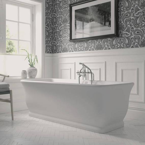 Imperial Mortlake Cian® Solid Surface Freestanding Bath