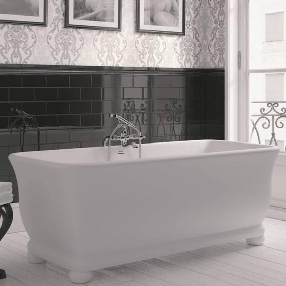 Imperial Putney Cian® Solid Surface Freestanding Bath