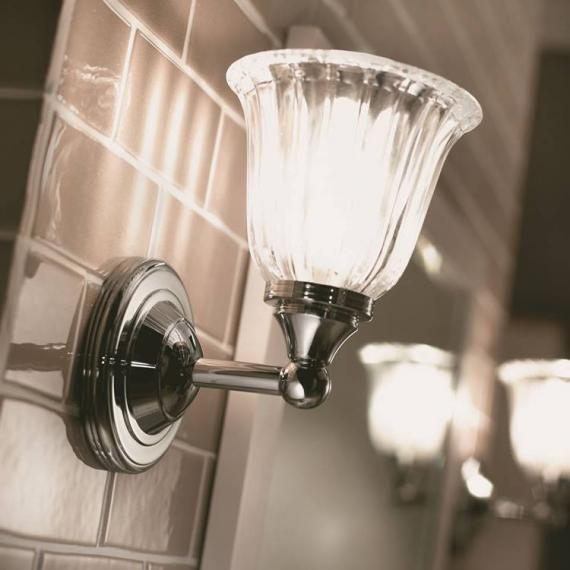 Imperial Segovia Wall Light With Glass Shade