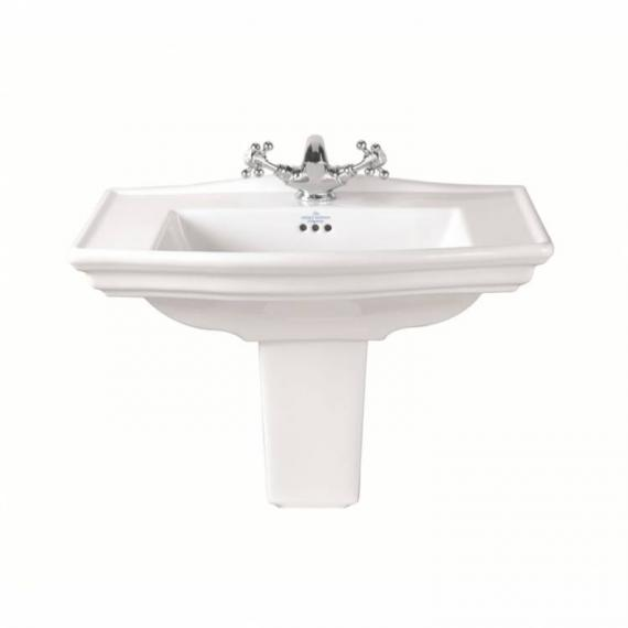 Imperial Westminster Medium Basin and Semi Pedestal