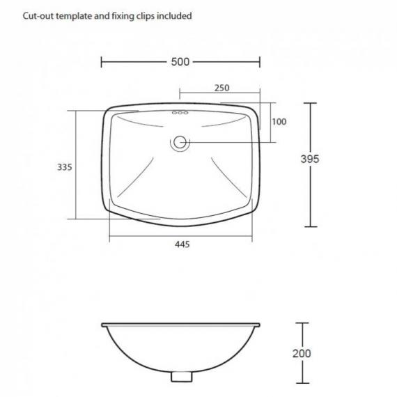 Imperial Westminster Under-Counter Basin - Spec
